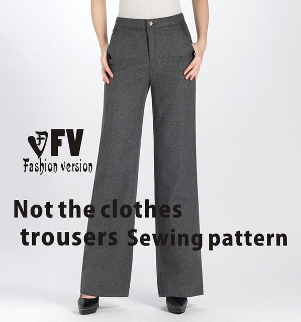Aliexpress Buy Wide Leg Trousers Pants Sewing Pattern The