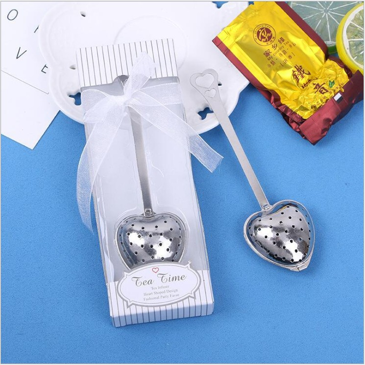 Return Gifts For Wedding Guests: Return Gifts For Wedding Stainless Steel Heart Shape Tea