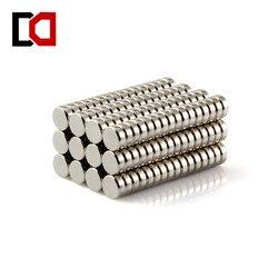 100 шт дисковый 5x2 мм n50 редкоземельный постоянный сильный неодимовый магнит оптом магнитов NdFeB (неодим-никель