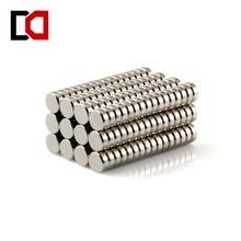 Бесплатная доставка 100 шт. диск 5 х 2 мм N50 редкоземельных постоянный сильный неодимовый магнит объемных магнитов ndfeb никель