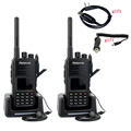 2pcs Retevis DMR Walkie Talkie RT3 VHF 136-174MHz 5W 1000 CH Digital/Analog Digital VOX Alarm Ham Radio A9110AV@2-J9110P-J0262A