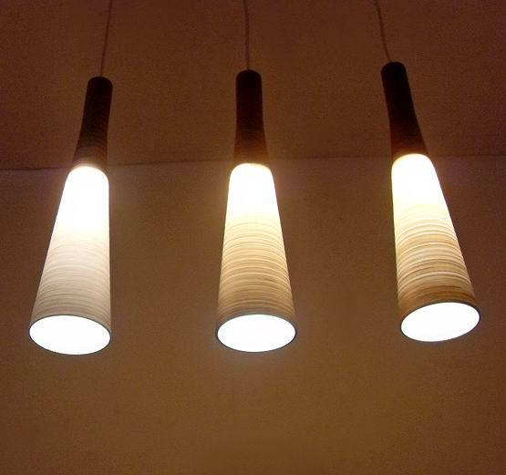 glass pendant light customize EMS free shipping 2017 Brief decorative lighting restaurant lamp bar lamp wood grain ZCL