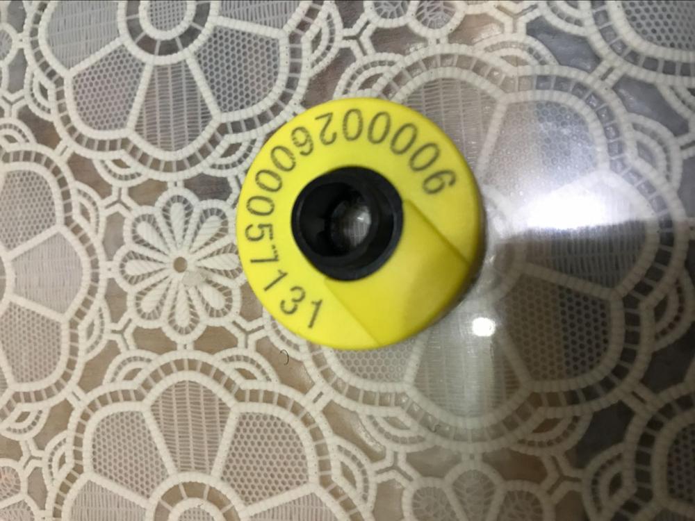 134.2khz ISO11784 ISO11785 etiketë rfid veshi për menaxhimin e - Siguria dhe mbrojtja - Foto 5