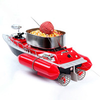 2018 New Arrival T10 Electric Wireless Mini RC Bait Boat Fast RC Fishing Adventure Lure Bait Boat for Finding Fish ship lure