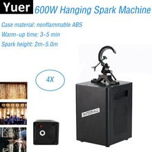 600W Cold Spark Firework Machine DMX Control Fountain Fireworks Wedding Professional Sparkles Light Disco Party