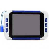 2-32x Baixa Visão Lupa Eletrônica portátil de Vídeo Microscópio Eletrônico Visual Aids Cartão SD USB AV Para Fora, VD-LE1 Frete Grátis