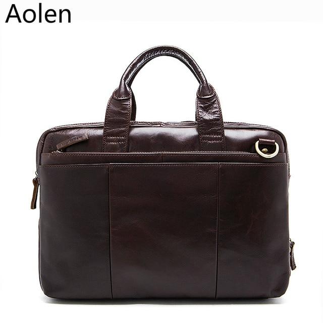 Classic Men Purse Leather Briefcases Designer Handbag Shoulder Bag Free shipping Wholesale Retail