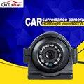 Visión CCD HD noche visión coche cámara frontal/lado/izquierda/derecha/cámara de visión trasera de coche universal de marcha atrás parque cámara