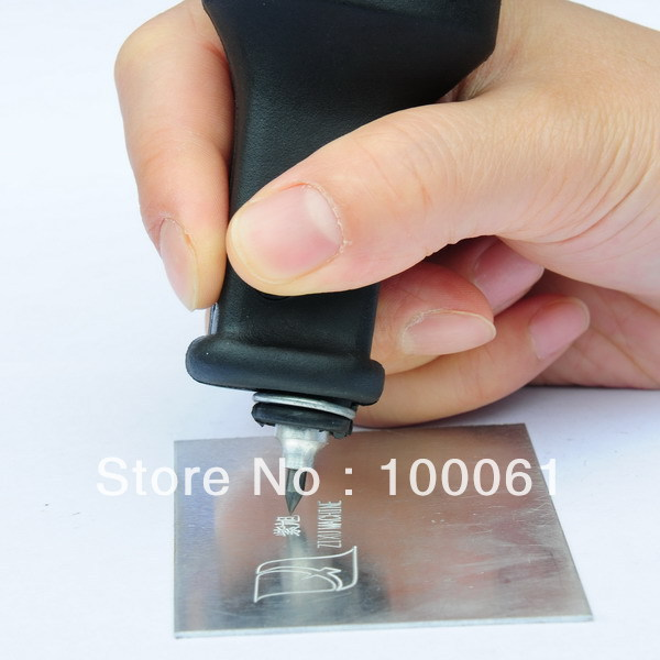 Electrical Small Hand Pen Engraving Machine; Free Shipping
