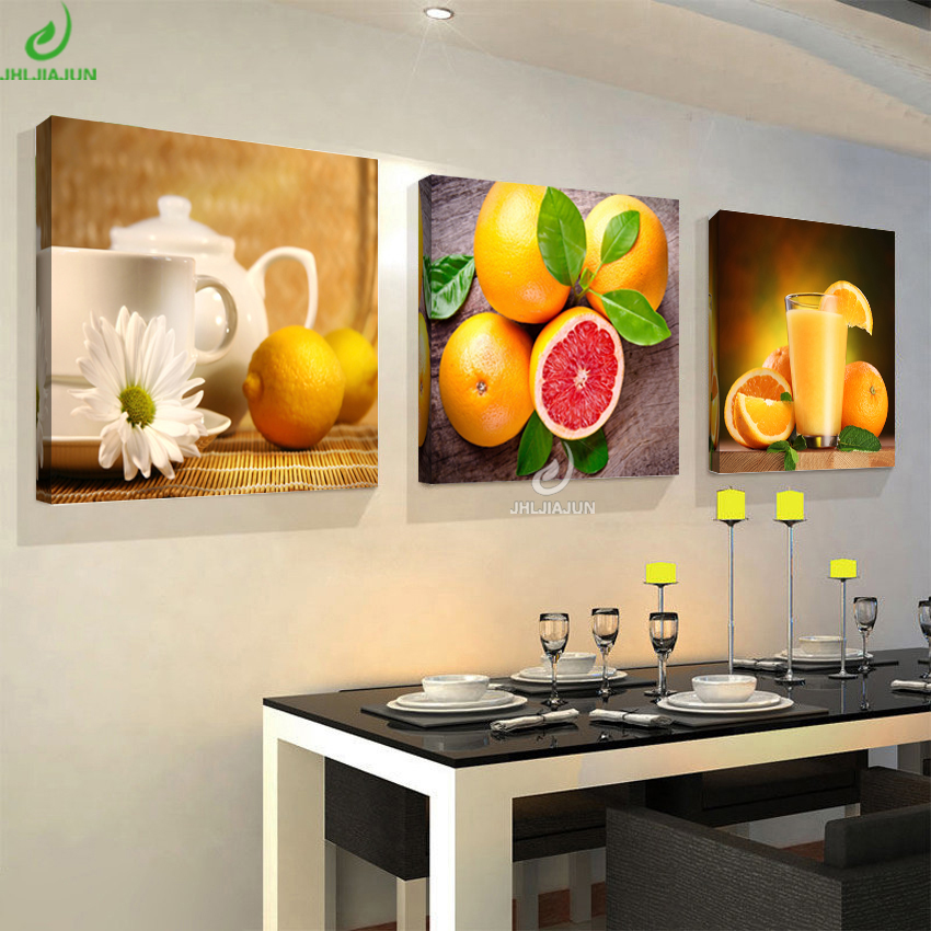 Home Decor Pictures: Fruit Pictures Canvas Home Decor Posters And Print Modular
