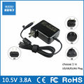 10.5V 3.8A to 10.5V 4.3A AC laptop power adapter for Sony VGP-AC10V10 AC10V8 Vaio Duo 10 11 13 SVD112P2EB SVD112A1SM SVD1122APXB