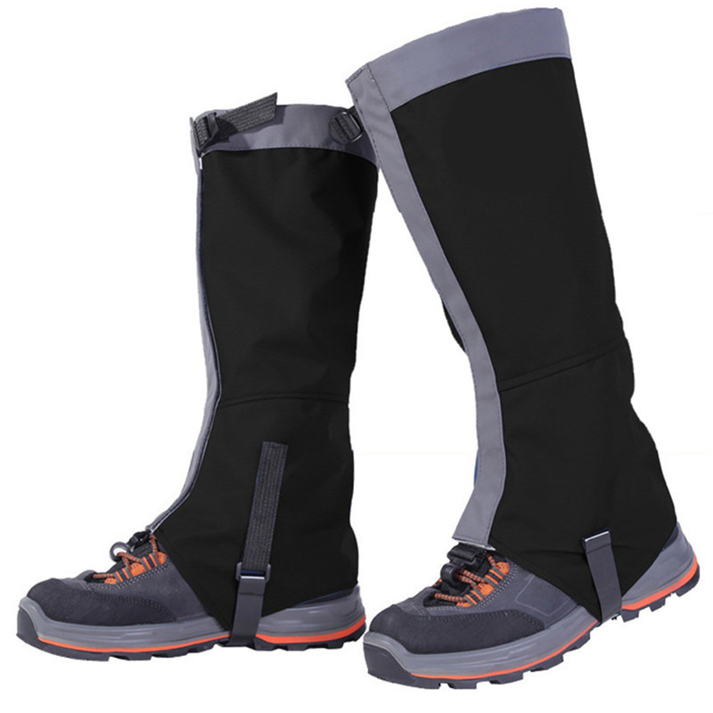 Camping & Hiking Shoes Cover Outdoor Waterproof Windproof Gaiters Leg Protection Guard Skiing Climbing Winter Warm Shoe Cover