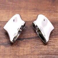 Rear Chrome Short Turn Singal Brackets For Harley 08 13 Dyna Fat Bob FXDF Sportster Model