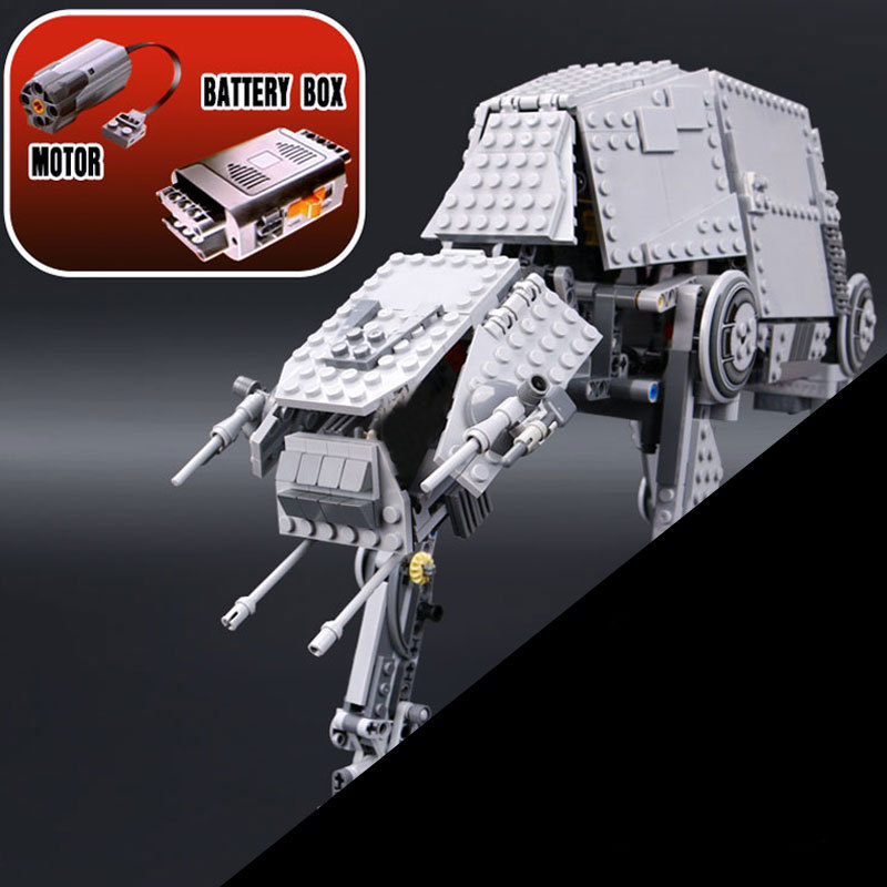NEW 1167pcs  05050 Star Series AT- the AT Robot Electric Remote Control Building Blocks Toys Compatible with 10178 warsNEW 1167pcs  05050 Star Series AT- the AT Robot Electric Remote Control Building Blocks Toys Compatible with 10178 wars