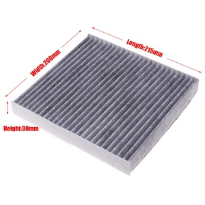 Image 3 - Cabina Ajuste del filtro para Peugeot 4007 2.2HDi 2,4/4008/1,6 1.8HDi 2,0 modelo 2007 a 2008  2012, 2013 2019 filtro de carbono Accesorios