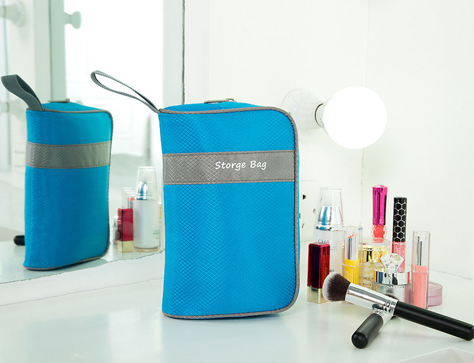 Makeup Usb Data Travel Electronic Accessories Cable Organizer Bag Large Travel Bag Organizer Electronic Multi-Functional         (10)
