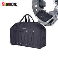 KEMiMOTO Tour Pack Organizer Travel Packs Luggage Bags Soft Liner Bag For Touring For Sportster Dyna For Road Kings 1996 2013