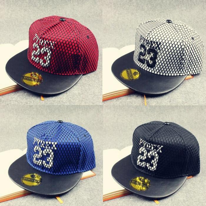 New fashion bons gorras snapback truckfit 23 mesh hip hop cap leather brim jordan hats baseball