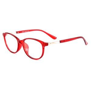 Image 3 - Gmei optyczne Trendy Ultralight TR90 owalne pełne obręczy kobiet oprawki do okularów korekcyjnych dla kobiet krótkowzroczność okulary prezbiopia M041
