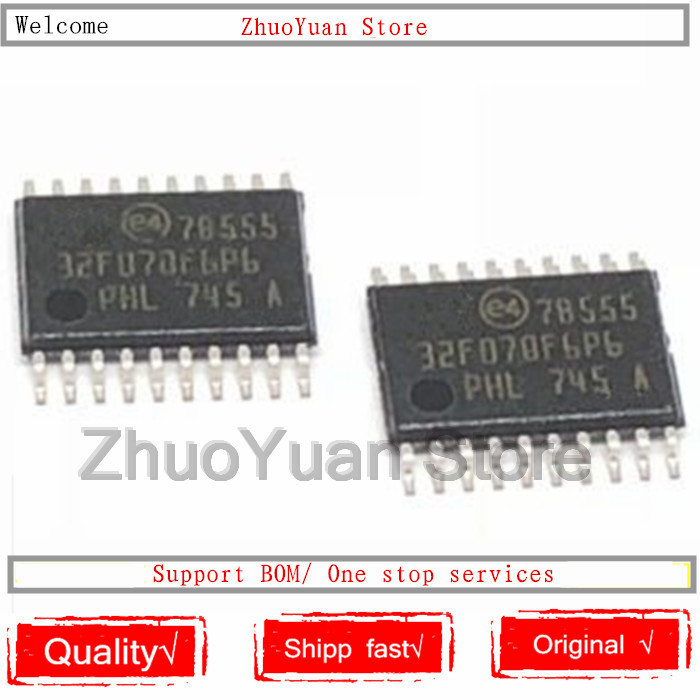 1PCS/lot STM32F070F6P6 STM32F070 32F070F6P6 TSSOP20 New Original IC Chip