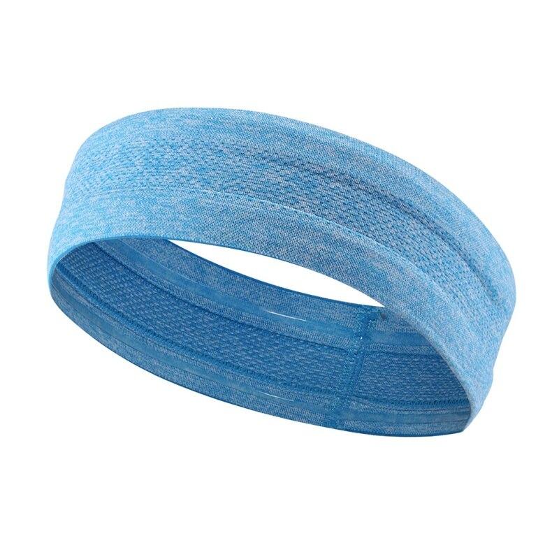 Women Men Yoga Hair Bands Sports Headband Anti-slip Elastic Rubber Sweatband Football Yo ...