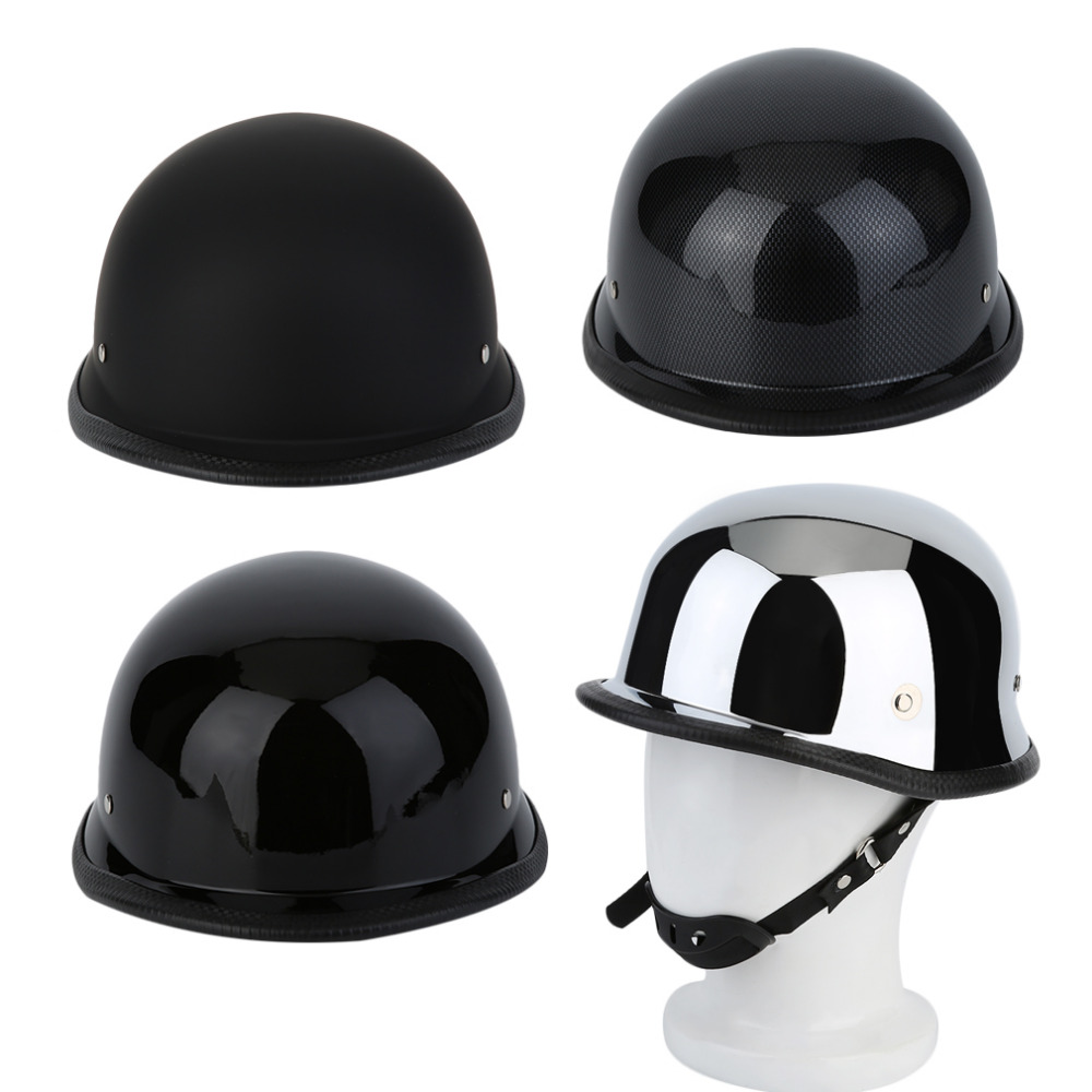 2017 Universal M/L/XL Comfortable Matte German Style Vintage Motorcycle Helmet Durable Half Face Helmet Motorcycle Helmet Hot