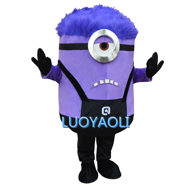 Offre spéciale 2015 nouvelle arrivée Minions mascotte Costume adulte personnage Costume Cosplay mascotte costume livraison gratuite