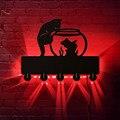 Katze und Fisch Schüssel Wand Aufhänger Kleidung Wand Kunst Haken Geek Dekorative Wand Halterung Mantel Rack Schlüssel Halter Organizer Haken aufhänger-in Kleiderbügel & Gestelle aus Heim und Garten bei