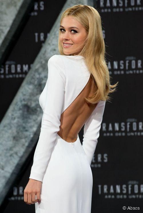 Белый сексуальные шея пром платья с длинным рукавом джерси спинки русалка формальное вечернее платье красной ковровой дорожке знаменитости платья