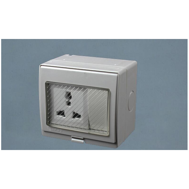 Ip55 Wall Waterproof Power Socket 16a Uk Us Eu Universal Socket