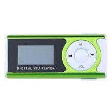 Portable Shiny Mini USB LCD Screen Sport MP3 Media Player Support 16GB Micro SD Card Sports MP3 Music Player MP3/WMA