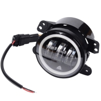 Top Quality Car Fog Light 30w 4inch Led Fog Light For Jeep Wrangle Jk With Halo