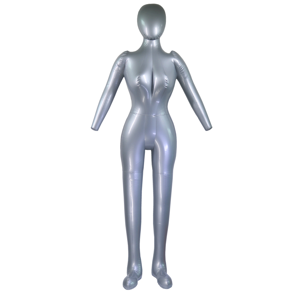 Black And Flesh by The Competitive Store Hips Long 2 Pcs Female Dress Body Mannequin Forms Set For S-M Sizes