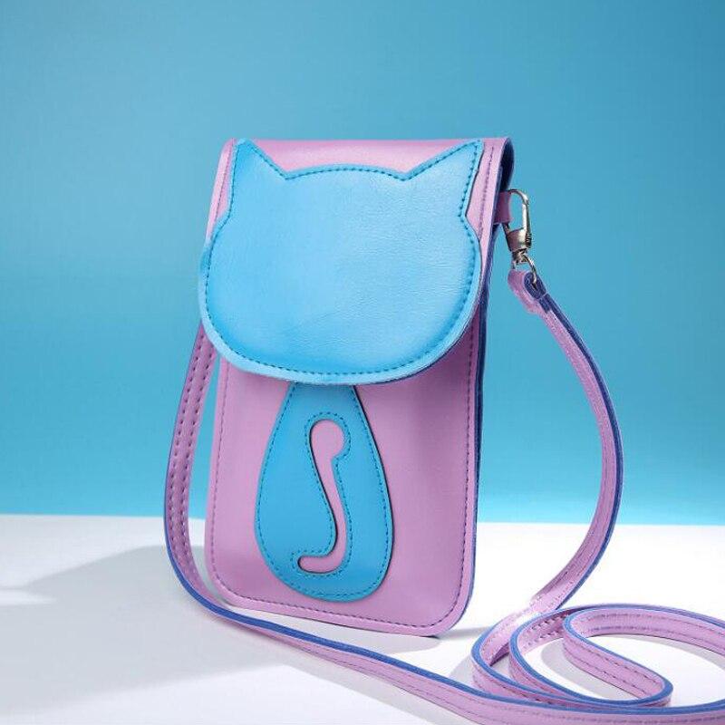 mini bolsas atravessadas para meninas Tipo de Bolsa : Bolsas Mensageiro