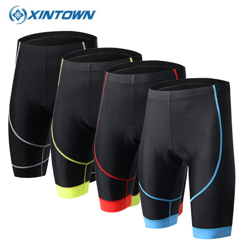 XINTOWN Hot Sale Unisex Bicycle Cycling Comfortable font b Underwear b font Sponge Gel 3D Padded