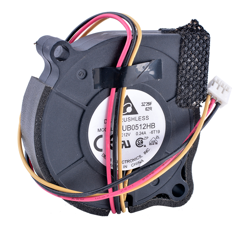 Chłodzenie rewolucja BUB0512HB 5CM 5015 wentylator odśrodkowy wentylator turbinowy 12V 0,24a