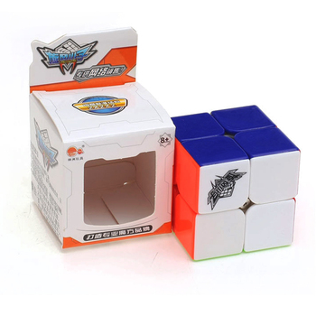 50mm Cubo Magico cyclone boys Magic Cube 2x2x2 Stickerless Cubo Speed Cube 2x2 Puzzles Cubes Toys For Children 1