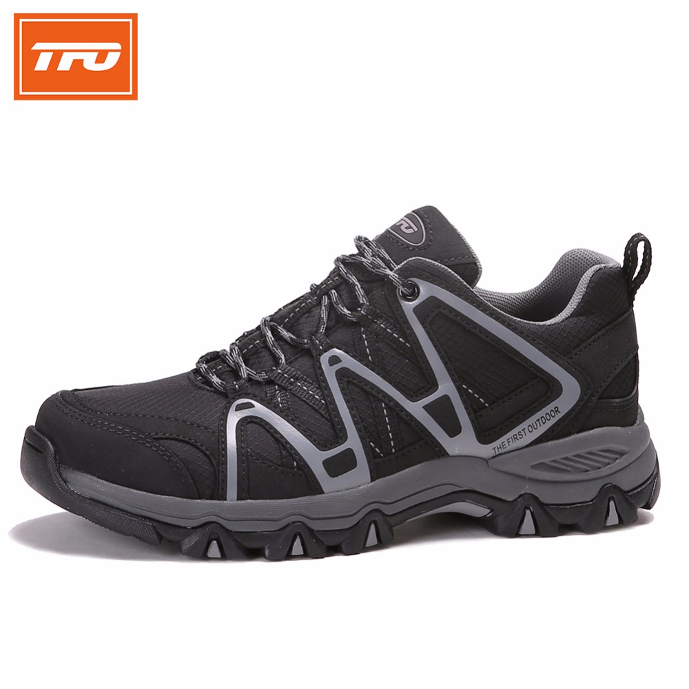 TFO Hombres Zapatos Atléticos Trail Running Shoes Transpirable Amortiguación Ant