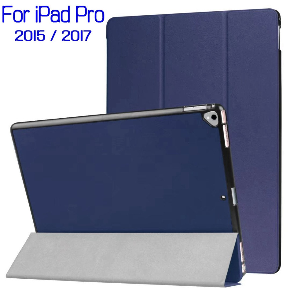 Universal Magnetic Stand Smart PU Leather Cover Funda Case for iPad Pro 12.9 2015&2017 Tablet With Auto Sleep/Wake+Touch Pen case cover for goclever quantum 1010 lite 10 1 inch universal pu leather for new ipad 9 7 2017 cases center film pen kf492a