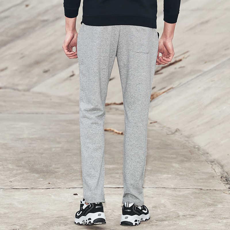 Pioneer Kampı Erkek Düz Sweatpants Sonbahar Bahar Elastik Bel Lacivert Streç örme pantolon Erkek Pantolon 701003