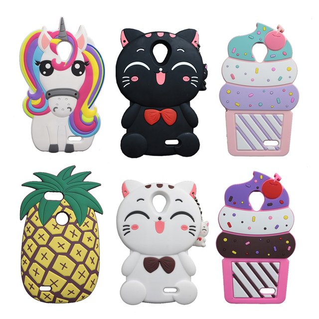 promo code 34764 efcee US $3.83 10% OFF|For ZTE Maven 2 Z831 Cute Cat Soft Case For ZTE Prestige  N9132 /Avid Plus Z828//Sonata 3 Z832 Soft Cover Ice Cream Phone Shell-in ...