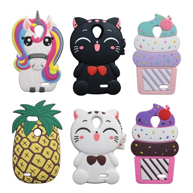 promo code 21675 9b904 US $3.83 10% OFF|For ZTE Maven 2 Z831 Cute Cat Soft Case For ZTE Prestige  N9132 /Avid Plus Z828//Sonata 3 Z832 Soft Cover Ice Cream Phone Shell-in ...