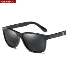 Peekaboo mens polarised sunglasses men 2018 with box matte b