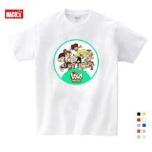 White T-shirt 2019 New Cartoon pattern Print Girls T shirt Short Sleeve O-neck Summer Tops Kid Casual Children Fashion