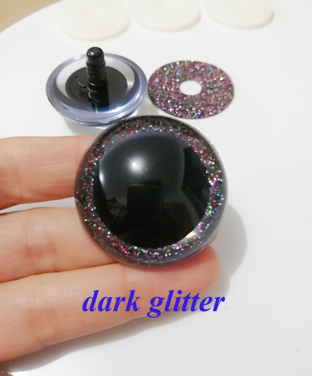 dark glitter color