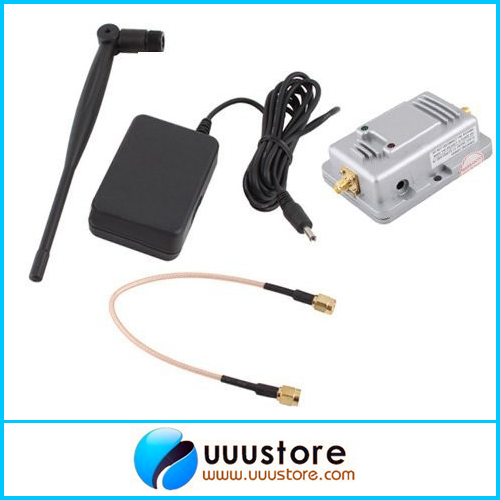 Long Range 2.4ghz 2W Amplifier Extended Range Signal Broadband Booster Amplifier Router w/Antenna For JR FUTABA WFLY DEVO10 Tx dhl ems 5 lots broadband antenna 35db 3g 4g lte crc9 90 angle booster signal amplifier 2m cable d2