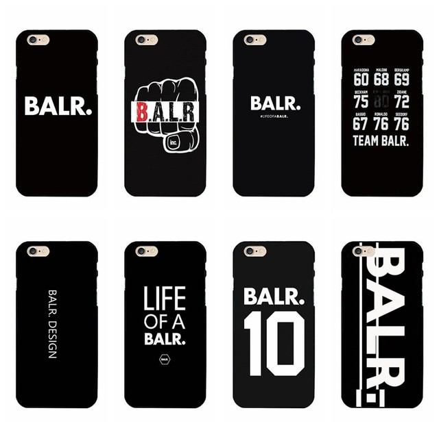 life of a balr logo cell phone cases hard plastic black shell pc