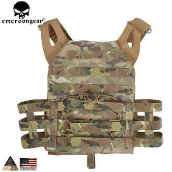 EMERSONGEAR Tactical Vest MOLLE JPC Vest Airsoft Paintball Molle Vest Chest Protective Plate Carrier Multicam Combat Vest EM7344 - DISCOUNT ITEM  20% OFF All Category