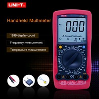 UNI T UT58C Digital Multimeters AC/DC Voltmeter Ammeter Temperature Capacitance Frequency Tester Mulimetro