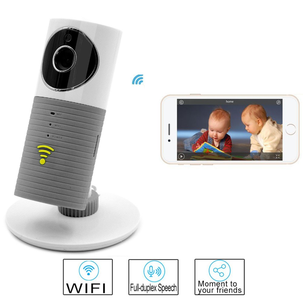 Babykam 720P ip camera mini camera baby monitor IR night vision 2 way talk Motion Sensor baby alarm wifi kamera baby monitors help your baby talk